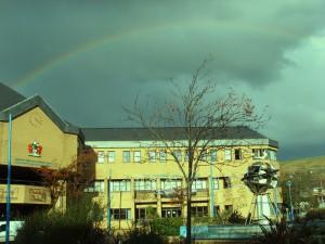 A deceptive rainbow